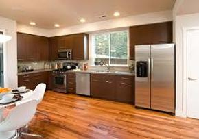 Hardwood floors kitchen dark