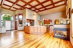 Hardwood Floors Light in Kitchen