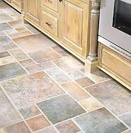 Laminate floors tile style