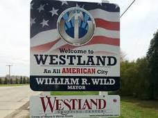 City of Westland Sign
